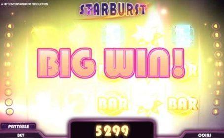 Casinoer Danmark har 5 tips til at få dig til at vinde mere i Starburst online spillemaskine.