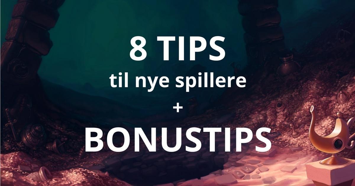 Tips til nye spillere på spillemasiner fra Casinoer Danmark