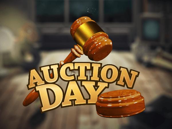 Auktionsdag er et Jackpot-spil, som du kan spille på Spilnu eller Danske Spil. På denne side vil du se Jackpotens temperatur.