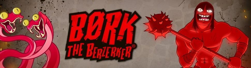 Læs anmeldelsen om Bork the Berzerker, et online spilleautomat fra Thunderkick med et actionfyldt bonusspil.