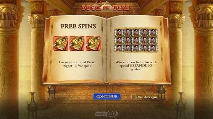 Free Spins mode gør det muligt for meget meget store gevinster.