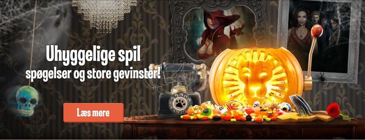 LeoVegas tilbyder danske spillere til at deltage i deres Halloween kampagne og vinde 200 000 kr.