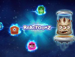 Reactoonz af Play'n Go