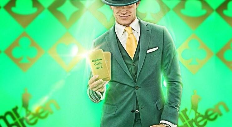 Golden card kontantgevinster 1-13 februar hos Mr Green Live Blackjack