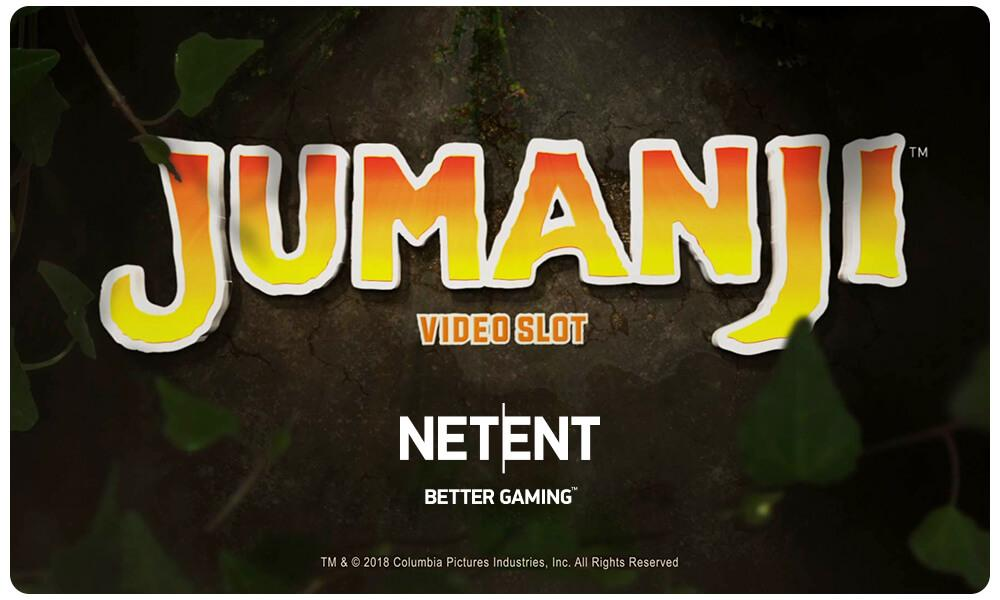 NetEnts Jumanji spilleautomat Udgivelsesdato: 21. juni 2018