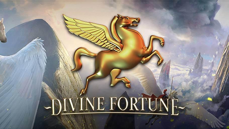 Læs vores anmeldelse af den populære Jackpot spil DIVINE Fortune fra spiludbyderen NetEnt.
