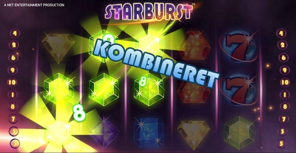 Det tog ikke længe før Lars havde vundet stort i Starburst spillemaskine!