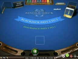 NetEnt – Blackjack Single Deck
