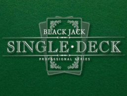 NetEnt – Single Deck Blackjack Pro Low Limit