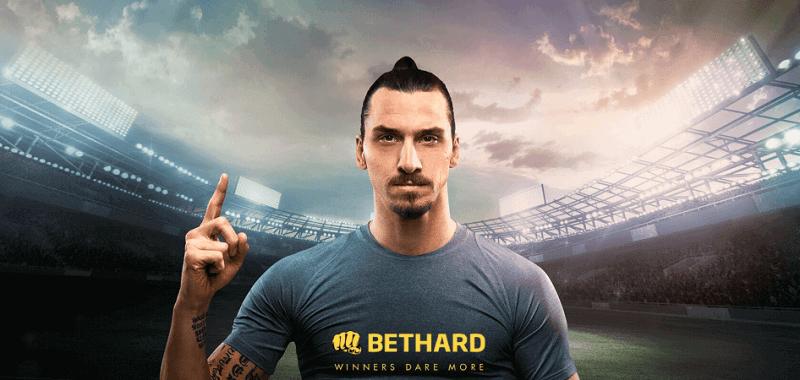 Zlatan og Bethard laver det bedste samarbejde nogensinde - Læs alt om det i mit Bethard casino og sportsbook review.