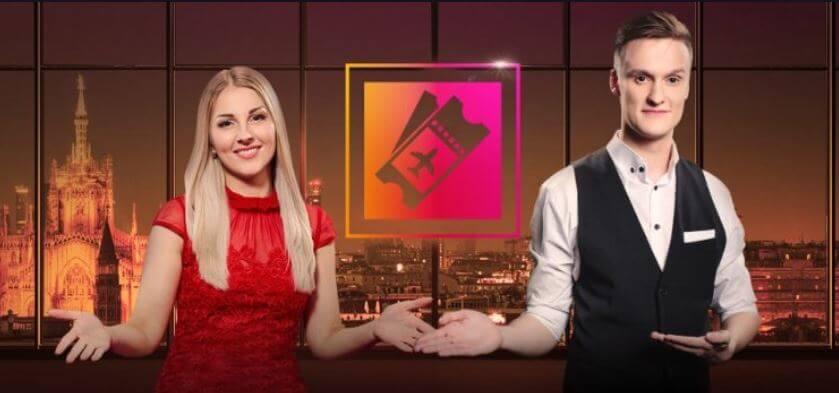 Spil live casino hos Maria for at få chancen for en gratis ferie i Milano.