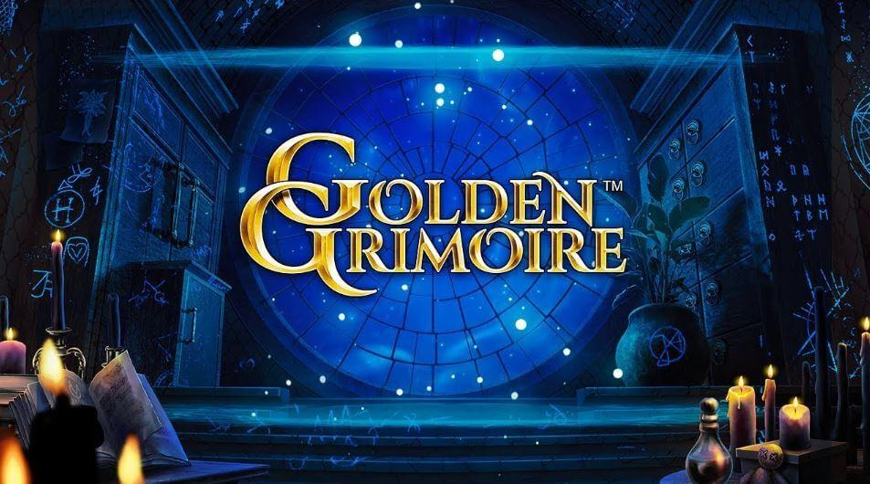 Golden Grimoire spilleautomat fra NetEnt