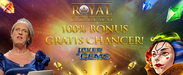 Jackpot-bonus på RoycalCasino i februar 2019