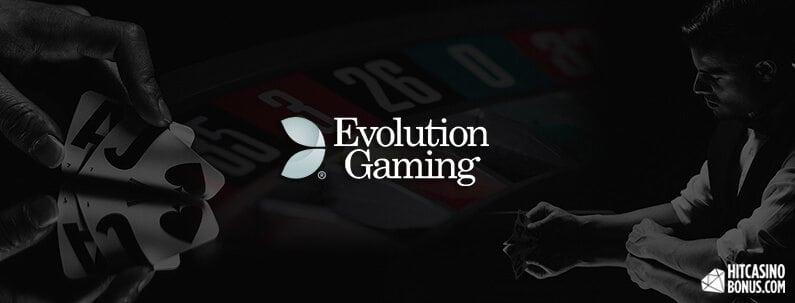 Evolution Gaming online casino og spillemaskiner i Danmark