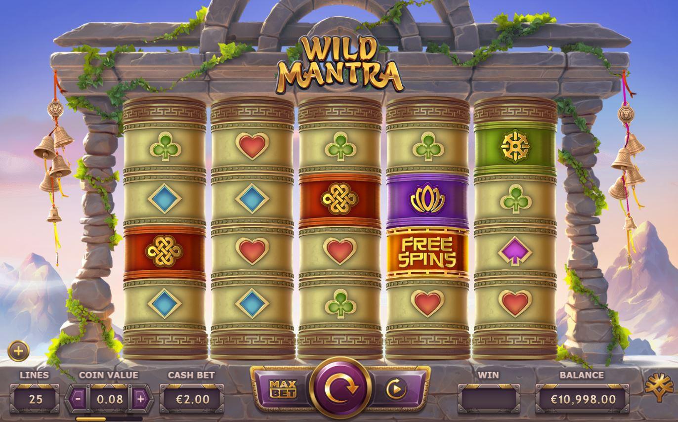 Wild Mantra spillemaskine fra LeoVegas originals