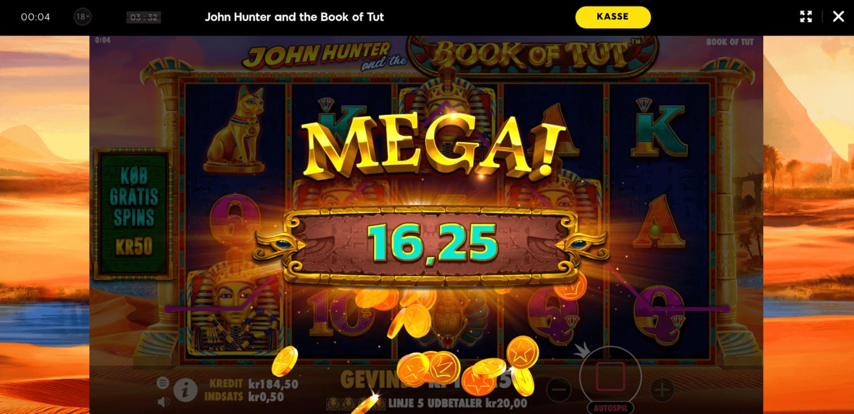 Book of Tut slot maskine