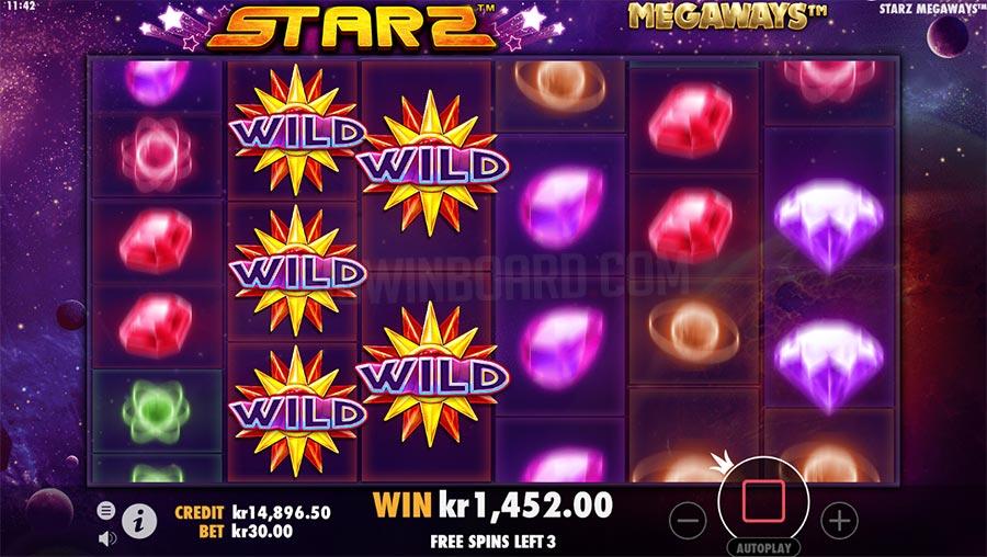 Starz MEGAWAYS spillemaskine
