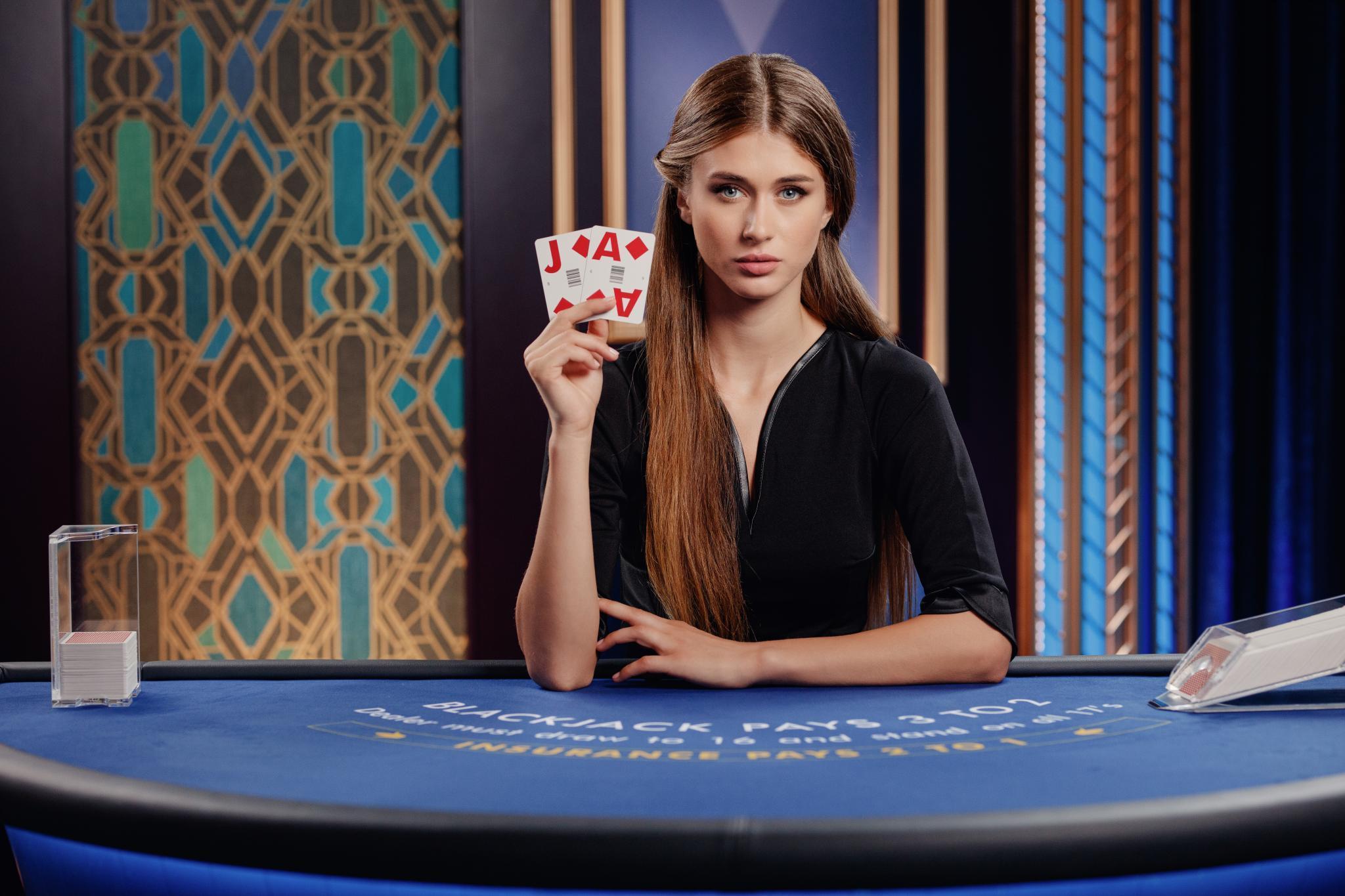 Online live casino spil fra mobilen