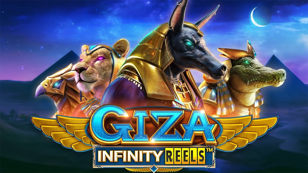 giza infinity reels spillemaskine fra ReelPlay