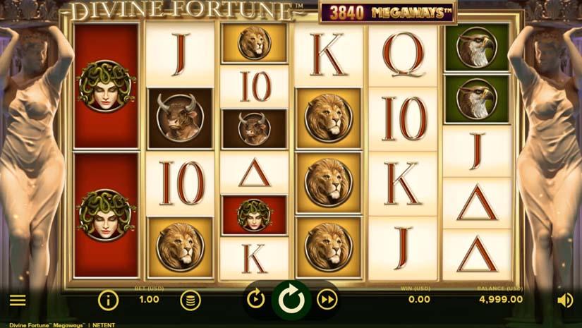 Divine Fortune MEGAWAYS slot maskine
