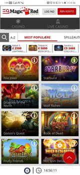 Magic Red casino mobil
