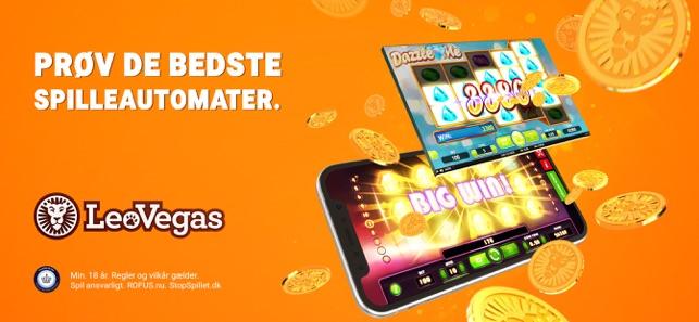 Spil LeoVegas multiplay fra mobilen