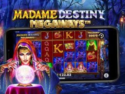 Casinoer med en Bonus til Madame Destiny Megaways
