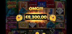 Congo Cash omg win