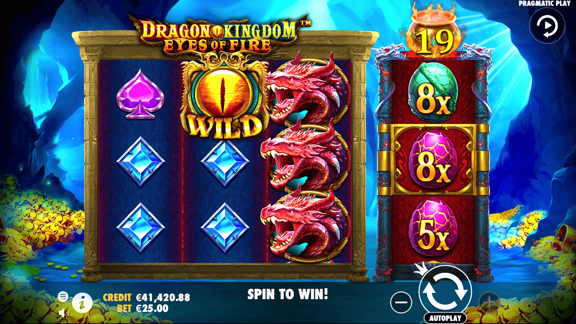 Dragon Kingdom Eyes of Fire - Pragmatic Play desktop
