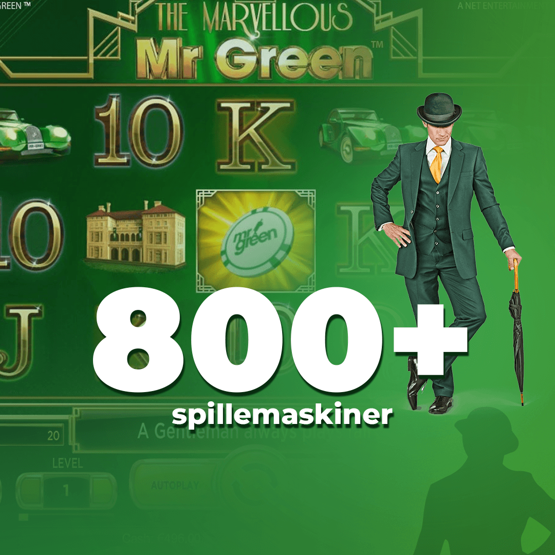 Mr Green spillemaskiner