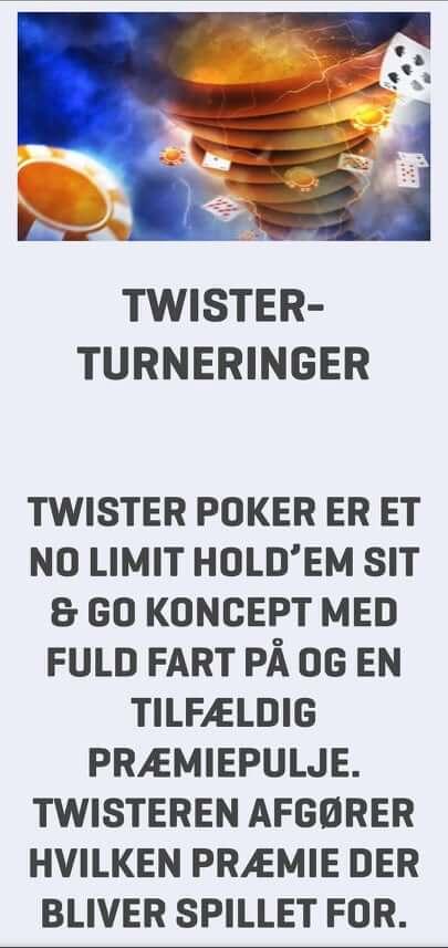 Nordicbet twister poker turneringer