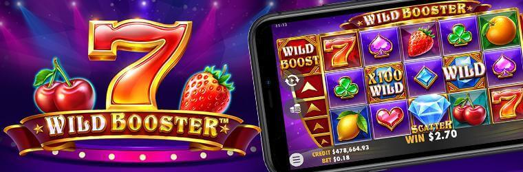 play wild booster slot online