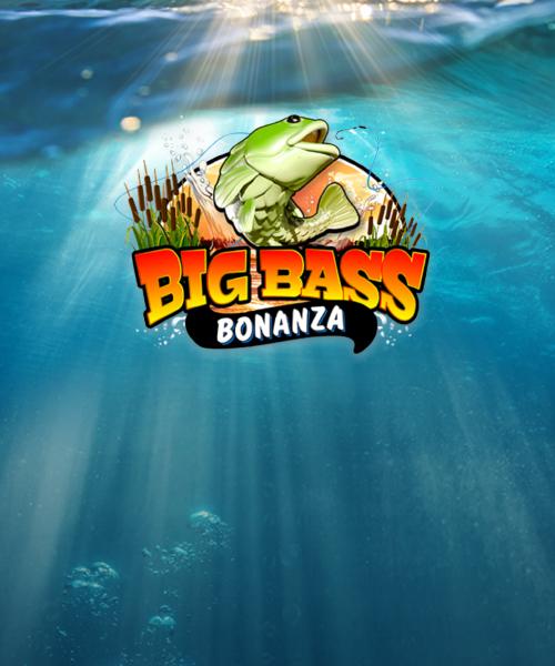 Casinoer med en bonus til Big Bass Bonanza