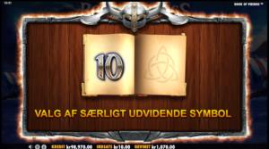 Book of Vikings særlige symboler